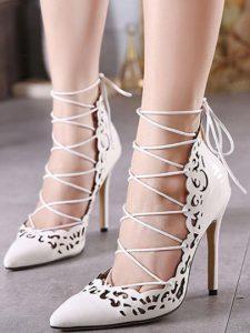 lace up pumps 1