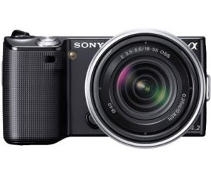 Sony NEX-5RK-B 16.1 MP Mirrorless Digital Camera
