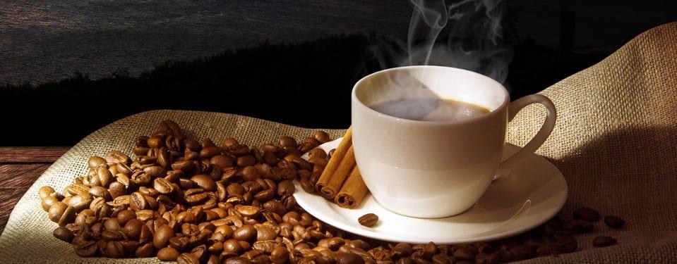 A hot espresso in a sunny morning!
